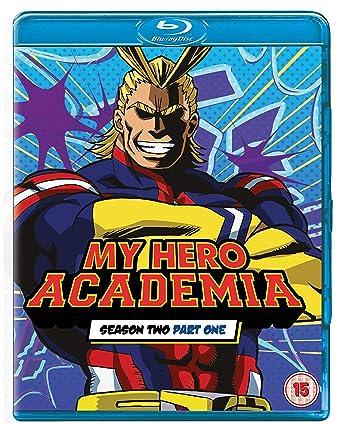 My Hero Academia: Season 2, Part 1 [Blu-ray]: Amazon co uk