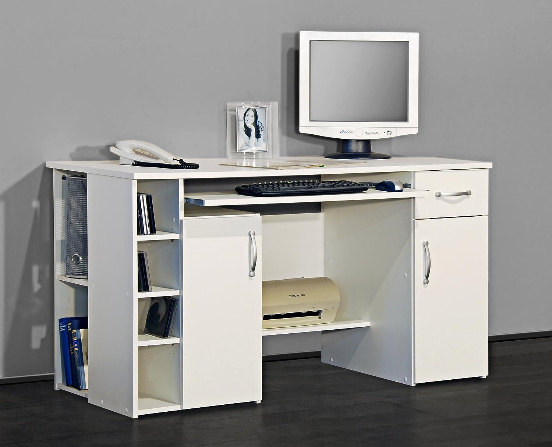 Möbeldesign Team Team Team 2000 4129 - Computertisch Schreibtisch   PC-Tisch in Weiß d00412
