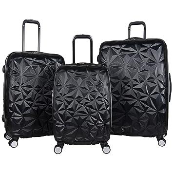 cb5204e04 Amazon.com | Aimee Kestenberg Women's Geo Chic 3-Piece Set, Black |  Carry-Ons