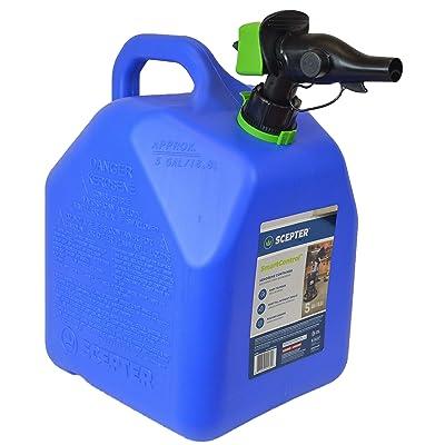 Scepter 5 Gallon Kerosene Can, FR1K502 with Spill Proof SmartControl Spout, Blue: Automotive