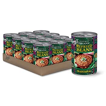 AMY'S ORGANIC 15.4-Ounce Canned Refried Bean