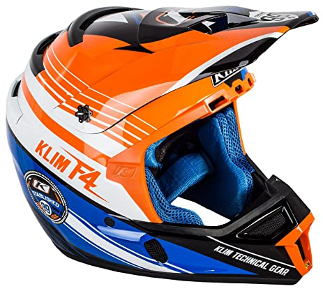 Klim ECE Mens F4 Motocross Motorcycle Helmet - Circuit / 2X-Large