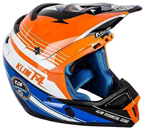 Klim ECE Mens F4 Motocross Motorcycle Helmet - Circuit / 2X-Large