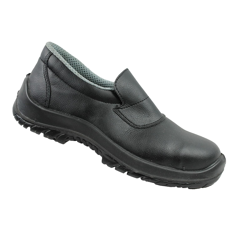 23b6245d8a7 Cool Foot S2 SRC Calzado De Seguridad Trabajo Zapatos de chef Zapatos de  trabajo plano negro