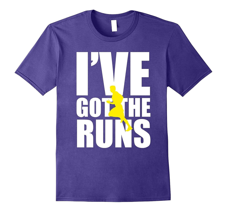 Ive Got The Runs Running T-Shirt-Vaci