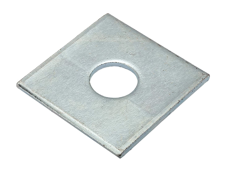 Steel AMPG Z8730-ZN Zinc Square Washer