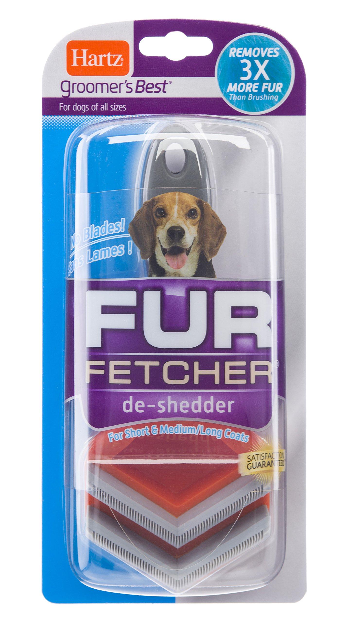 HARTZ Groomer's Best Fur Fetcher Deshedding Tool for Dogs