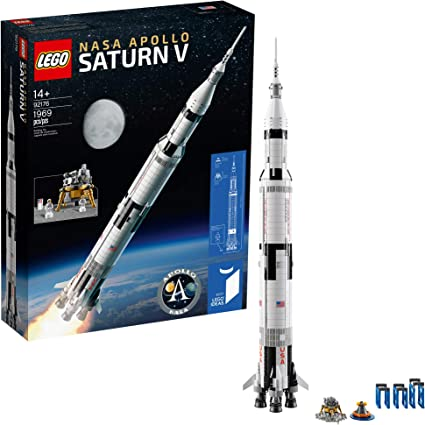 NASA Apollo Saturn V Lego 21309