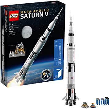 Compatible Ideas NASA Apollo Saturn V 1969 Pieces