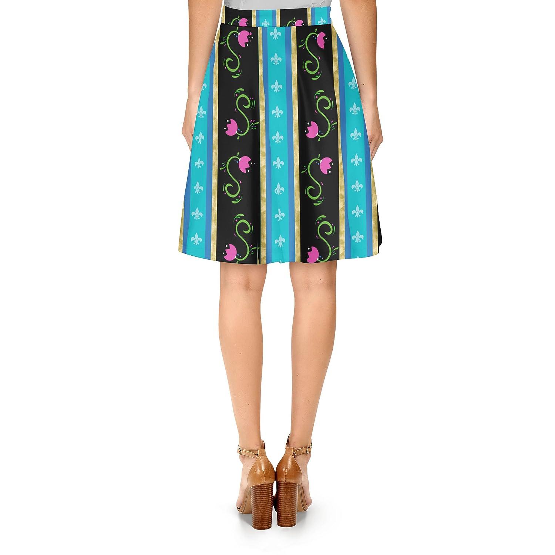 Ice Princess Anna Dress A-Line Skirt