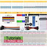 Freenove Basic Starter Kit for Raspberry Pi 4 B 3 B+, 147 Pages Detailed Tutorials, Python C Java, 146 Items, 17…