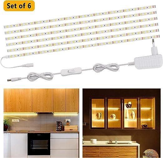 Speclux Luces LED Armario, Downlight LED, luz de gabinete LED con ...