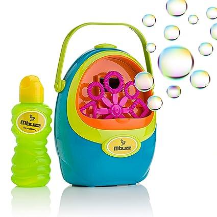 Outdoor Fun & Sports Automatic Bubble Machine Blower Maker Kids Children Indoor Outdoor Parties Toys