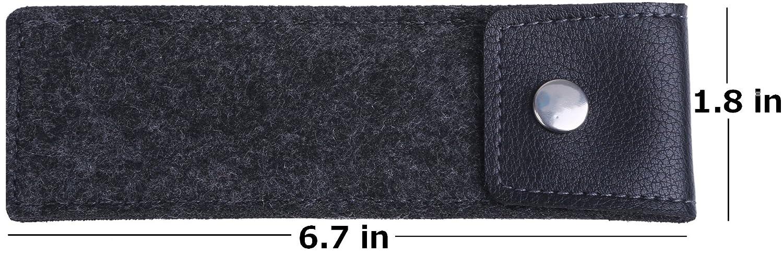 GCD-111 Tombow Fudenosuke Brush Pens with original black felt pen case and Soft GCD-112 Hard