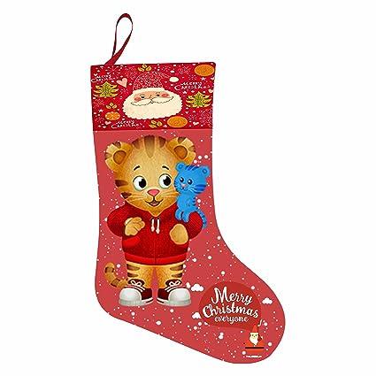 aha-6 regalo de Navidad calcetines daniel-tiger Cute tema