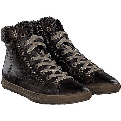 e8351afed152da Paul Green 4321-101 Damen Sneaker aus Feinstem Glattleder Warmes  Textilfutter