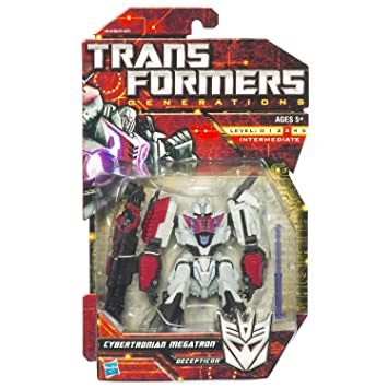 amazon com transformers generations cybertronian megatron