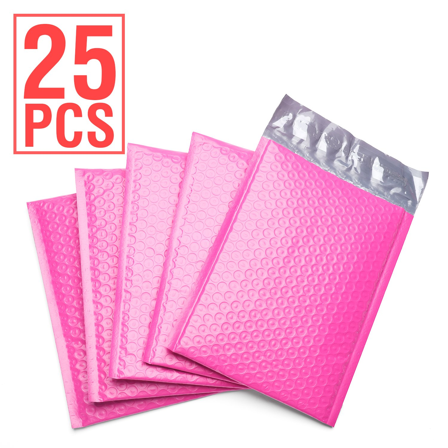 Fu Global 0 6x10 Poly Bubble Mailer Self Seal Padded Envelopes Pack Of 25