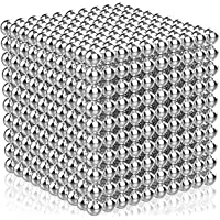 1000 Pieces 5 Millimeter M-agnetic Balls Building Sticks Blocks Toys for Intelligence Learning Development and Creative…