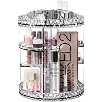 Sorbus Rotating Makeup Organizer, 360° Rotating Adjustable Carousel Storage for Cosmetics, Toiletries, and More - Great…