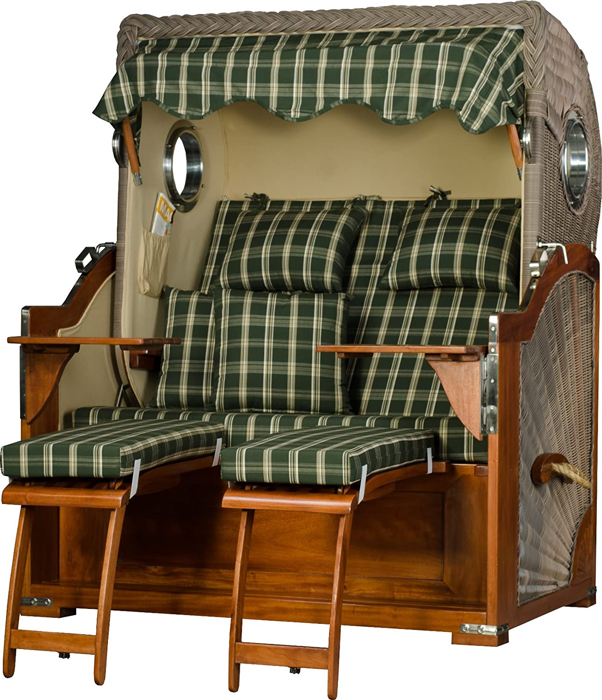 mr deko strandkorb xxl baltikum bullauge mahagoni pe old. Black Bedroom Furniture Sets. Home Design Ideas