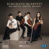 Beethoven/Bartók/Brahms: Streichquartette