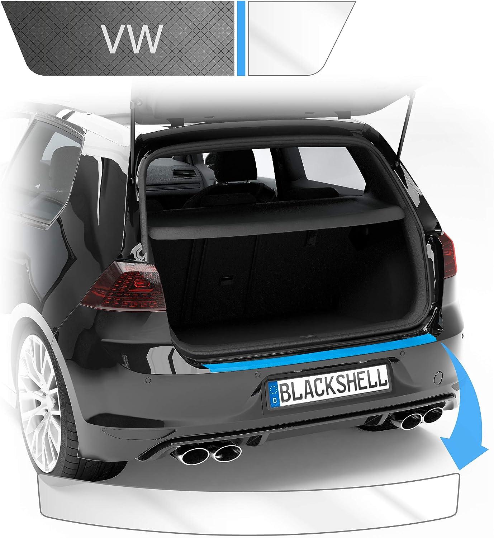 Blackshell Ladekantenschutz Folie Inkl Premium Rakel Passend Für Golf 7 Limousine Typ Au Bj 2012 2019 Transparent Passgenaue Lackschutzfolie Auto