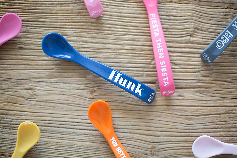 Stud Muffin//Hunk Bella Tunno Wonder Spoon 2 Pack Multi