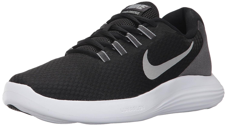 Nike Lunarconverge, Zapatillas de Running para Hombre 43 EU|Negro (Black/Matte Silver/Anthracite/White)