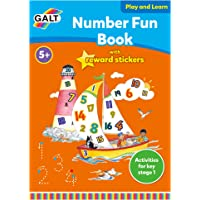 Galt GAL3143B Play and Learn Number Fun Book with Reward Stickers