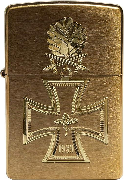 Zippo 18399 - Mechero con forma de cruz de caballero, 1939, con ...