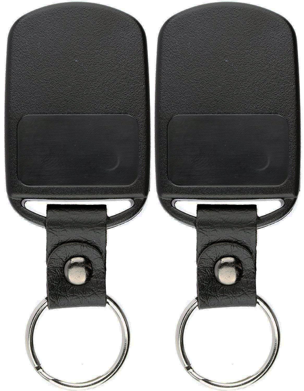KeylessOption Keyless Entry Remote Car Key Fob Transmitter for Hyundai Elantra, Santa Fe (Pack of 2)