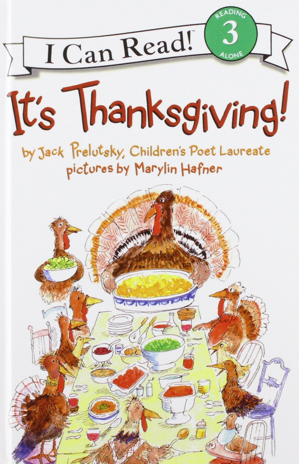 It's Thanksgiving! (I Can Read, Level 3)