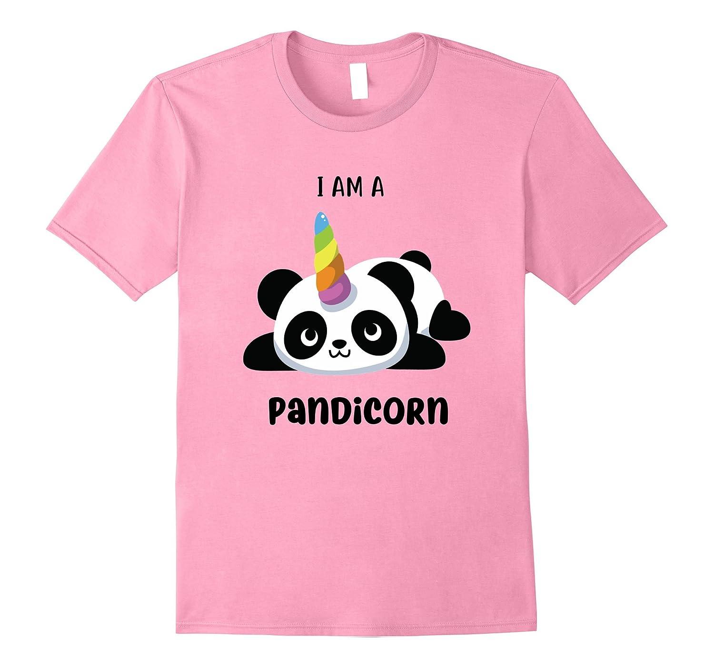 I Am A Pandicorn T-Shirt for Panda Lovers-RT