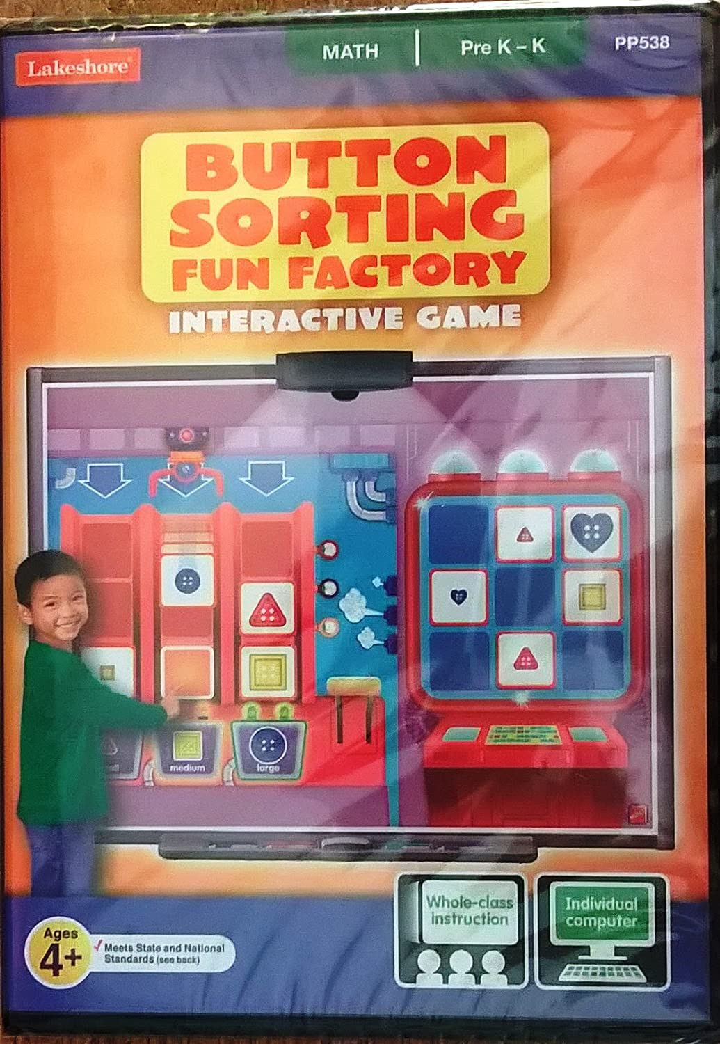 Amazoncom Button Sorting Fun Factory Interactive Game Video Games