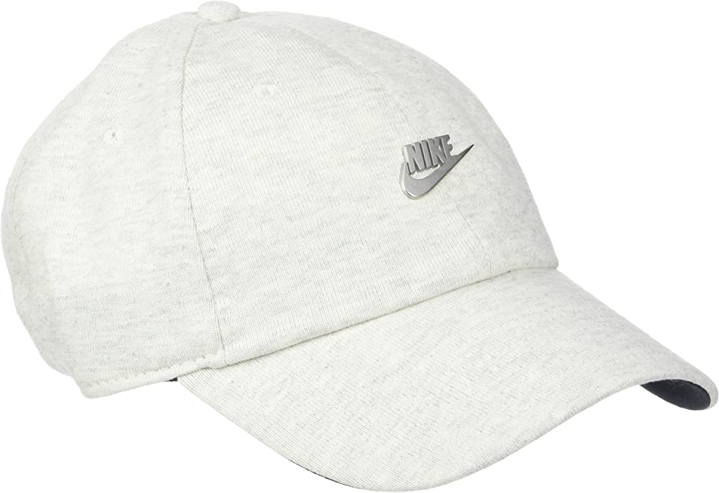 aa2b6aba7fcae NIKE NSW H86 Metal Futura Unisex Adjustable Hat Cap Light Grey Silver  891287-051
