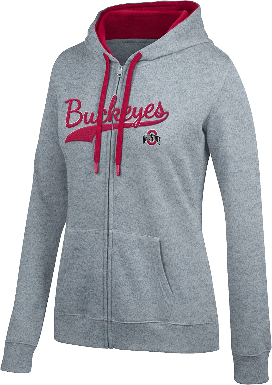J America NCAA Womens Full Zip Team Jacket