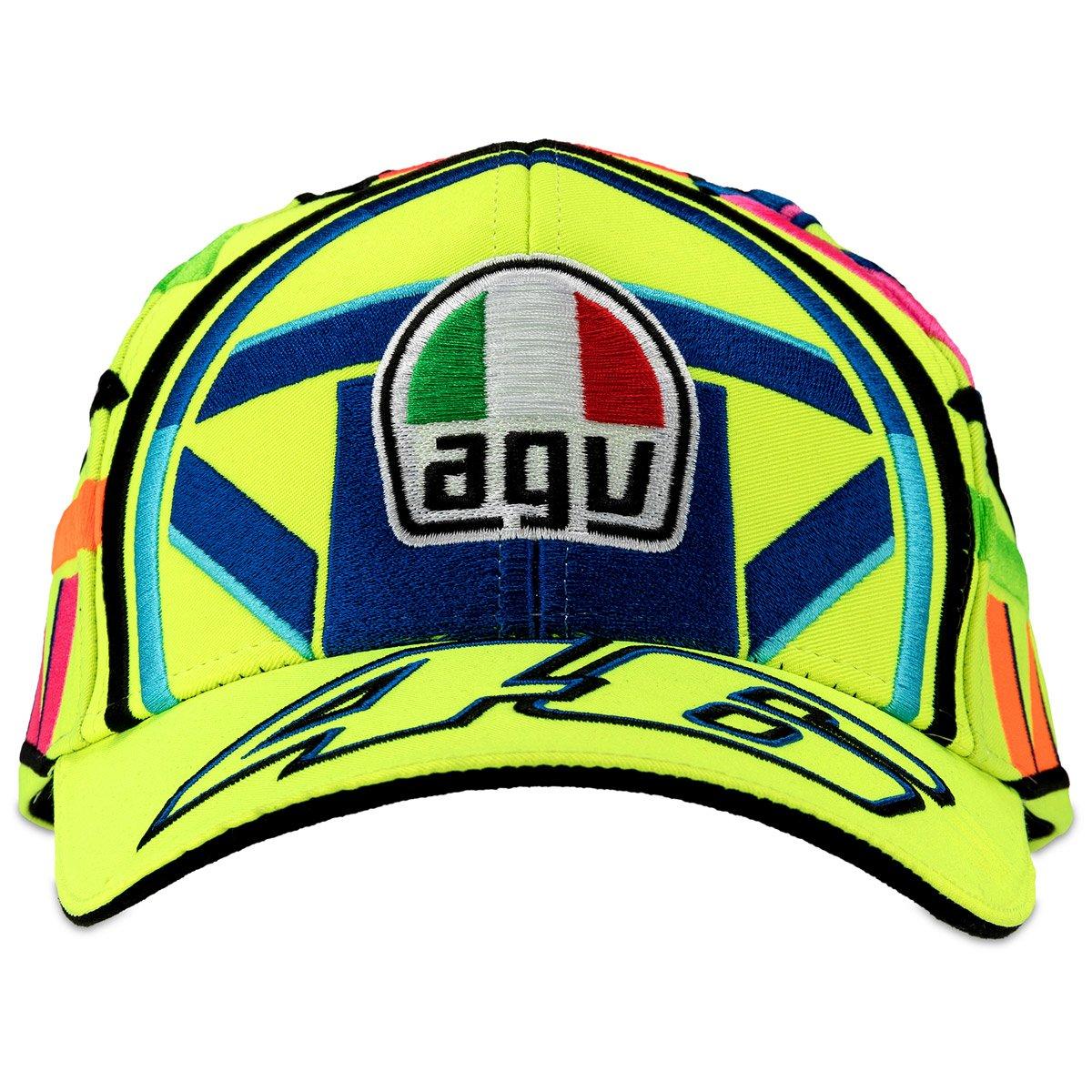 Valentino Rossi VR46 Moto GP Helmet Baseball Gorra Oficial 2018: Amazon.es: Deportes y aire libre