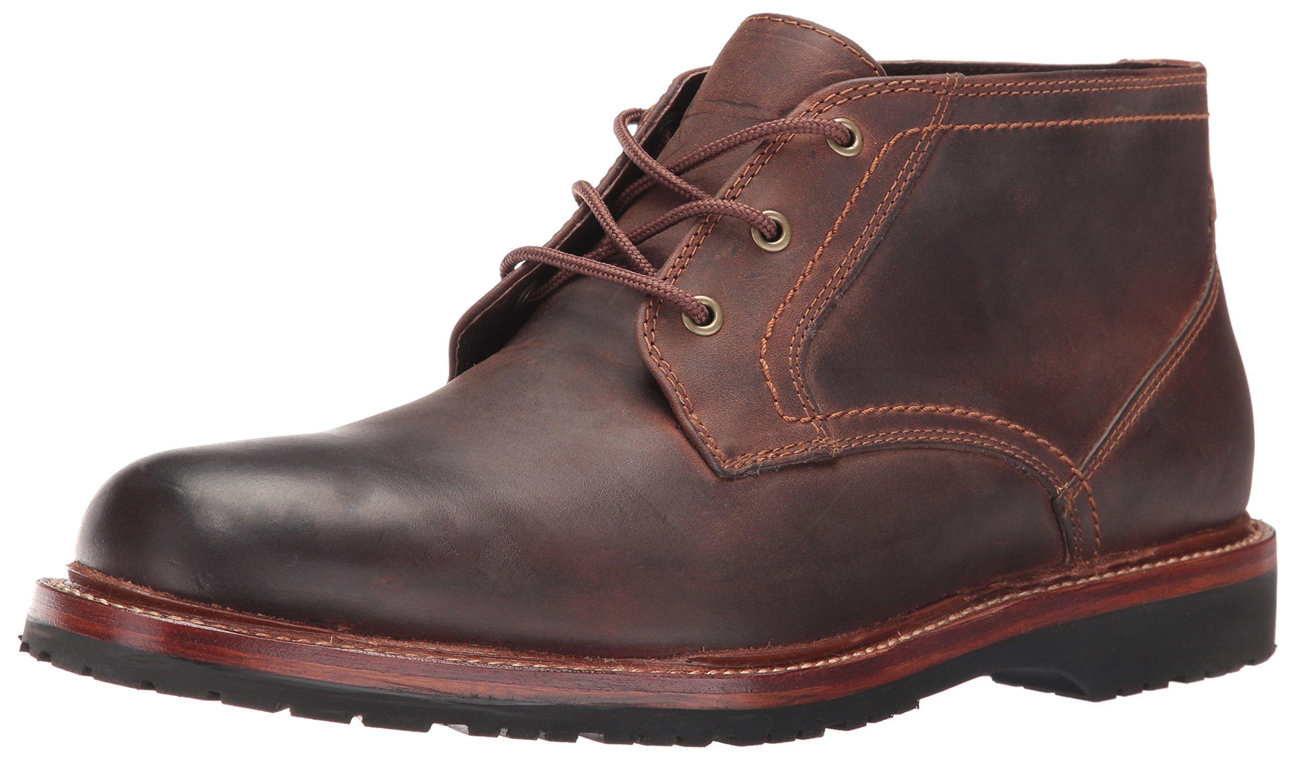 Trask Men's Arlington Chukka Boot, Brown Oiled American Steer, 11 Medium US