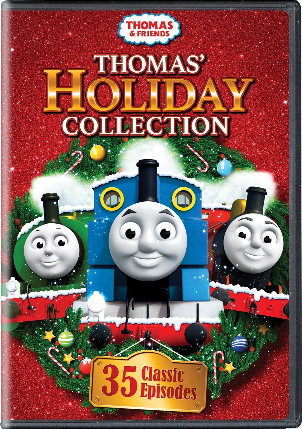thomas friends christmas holiday collection 35 classic episodes box dvd set ebay. Black Bedroom Furniture Sets. Home Design Ideas