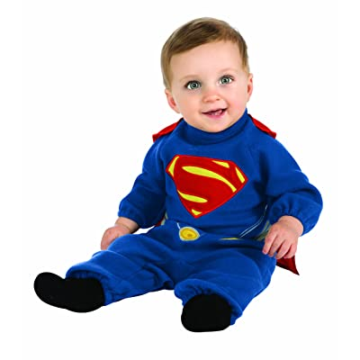 Rubie's Costume Man Of Steel Superman Romper: Clothing