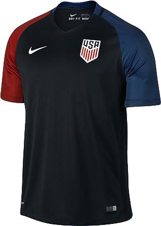 NIKE Selección de Fútbol de los Estados Unidos 2015/2016 - Camiseta Oficial, Talla L: Amazon.es: Deportes y aire libre