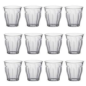 TRINKGLÄSER 6er SET Wassergläser Gläser GLAS Saftgläser DURALEX PICARDIE 360ml