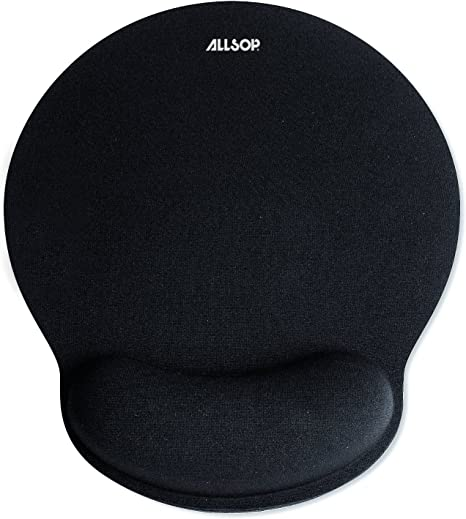 Allsop Mouse Pad Pro Memory Foam Mouse Pad 30203 Black