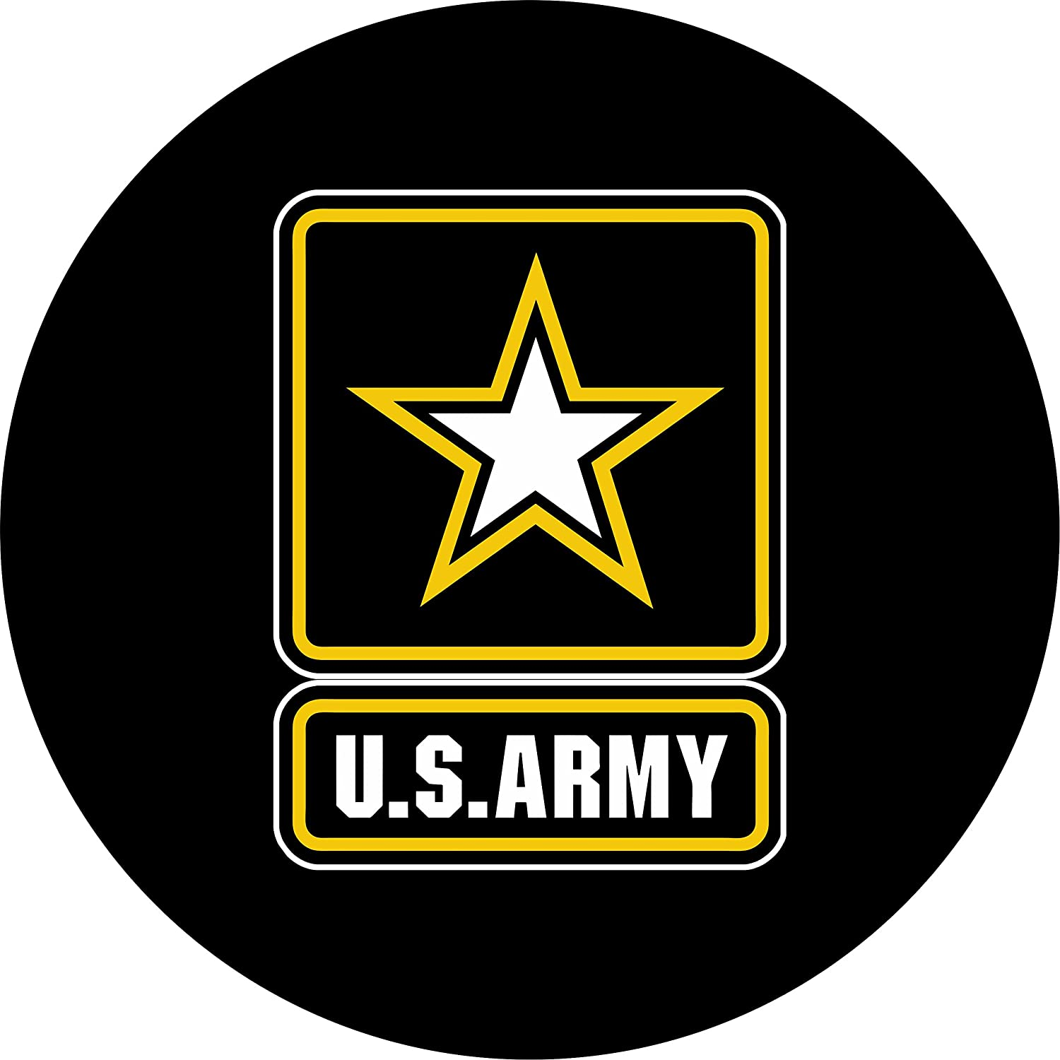 Army Spare Tire Cover for 245/75R17 Jeep RV and more (Select from popular sizes in drop down menu or contact us-ALL SIZES AVAILABLE) TireCoverCentral