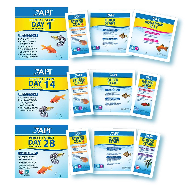Amazon.com : API PERFECT START Complete Aquarium Start Up Program Additive : Pet Supplies