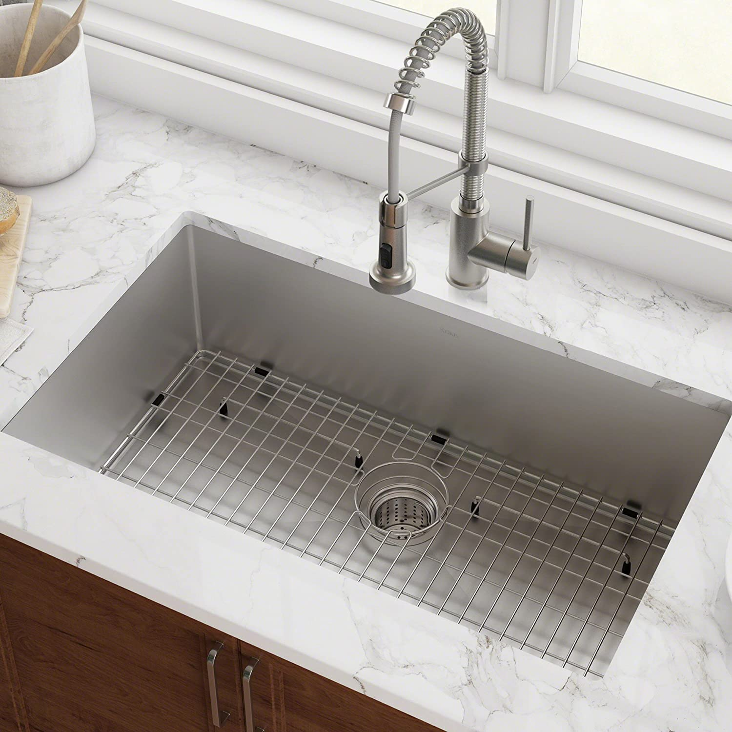 Kraus Single Bowl Kitchen Sink