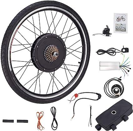 HIRAM Kit de Conversión de Bicicleta Eléctrica 48V 1000W 26 Kit ...