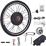 Sfeomi Kit de Conversión de Bicicleta Eléctrica 48V 1000W Kit de Conversión de Bicicleta 26 Rueda Electric Bike Conversion Kit con Controlador de Modo Dual (para Rueda Delantera): Amazon.es: Deportes y aire