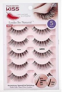 2deebb0de9b Amazon.com : Kiss Products Looks so Natural Multipack, 01 Shy ...
